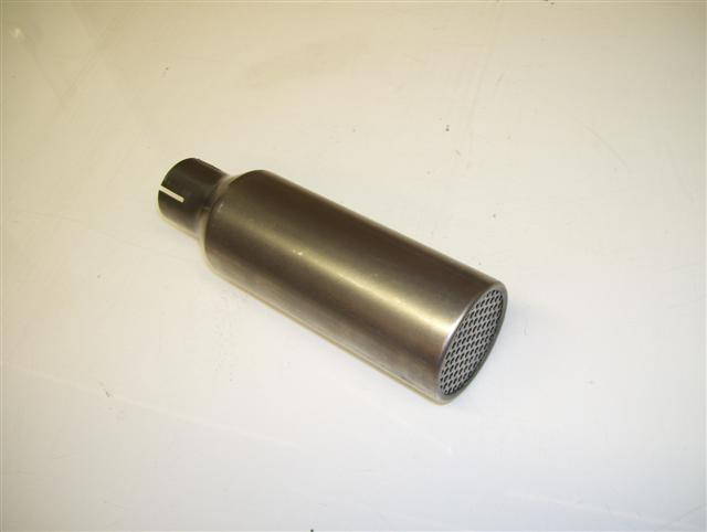 "Exhaust Silencer B91XL 1-5/16"" RLV large round holes"