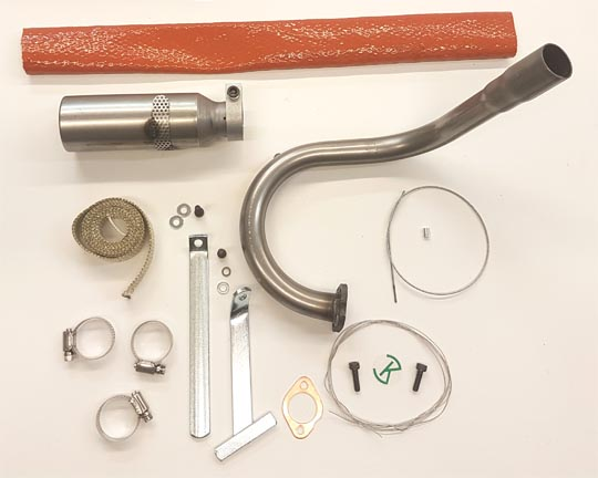 LO206 Exhaust Kit with Sleeve