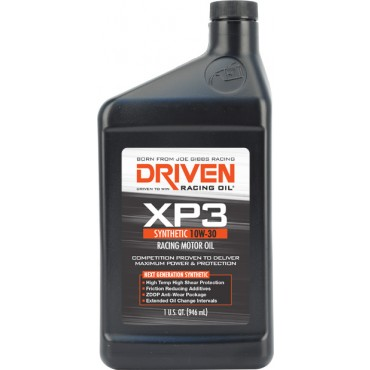 Oil, Joe Gibbs XP3 Jr. Drag Racing Synthetic 10W30 Oil 1 U.S. Quart