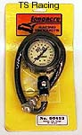 "Tire Gauge 0-15 lbs. 2"" Face Longacre"