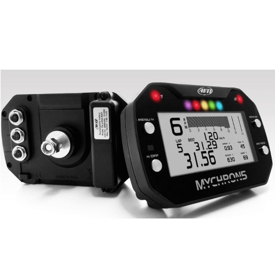 MyChron 5 Two Temp - RPM - Lap Gauge w/GPS Mapping